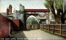 Waltham Abbey. The Abbey Gates, South View in Kromo Series 21561.