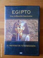 DVD EL MISTERIO DE TUTANKHAMON - EGIPTO - UNA CIVILIZACION FASCINANTE 3 (C6)