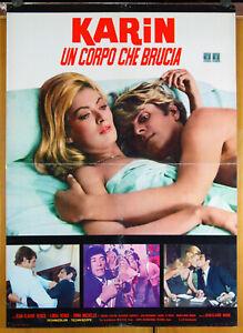 soggettone film KARIN UN CORPO CHE BRUCIA - LE BAL DES VOYOUS 1968