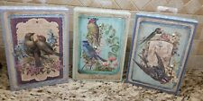 Picture Birds Wooden Box by Ohio Wholesale set of 3