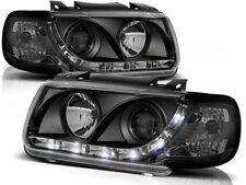LED HEADLIGHTS LPVWA4 VW POLO 6N HATCHBACK 1994 1995 1996 1997 1998 1999 BLACK