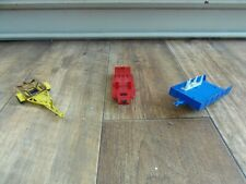 VINTAGE MATCHBOX & CORGI JOBLOT OF 3 DIE CAST TRAILERS COLLECTIBLE