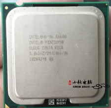 Intel Pentium E5700 vs E6600
