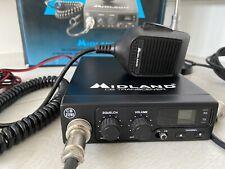 Radio CB Midland 77 095 UK FM con Micrófono CB Radio Transceptor y Ariel.