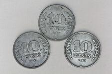 Netherlands - 10 cents 1941-1942-1943 zinc (#48)