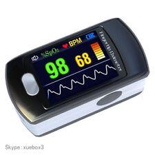 CONTEC CMS50E Pulse Oximeter Finger Tip Blood Oxygen Monitor, Alarm+Software,Hot