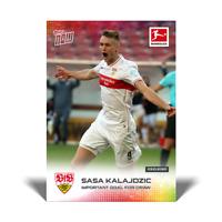 TOPPS NOW BUNDESLIGA 2020-21 - Card 18 - Sasa Kalajdzic - VfB Stuttgart GER