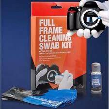 Full Frame DSLR Sensor Cleaning Kit Professional Camera 12 Swabs + 0.5oz Fluid