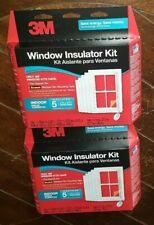 2x 3M Window Insulator Kit: Insulates (5) 3ft x 5ft Windows Each - Item# 2141W-6