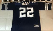 NWT Authentic Starter Emmitt Smith Dallas Cowboys Blue Jersey Size 48 Mens Large