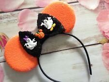 Halloween Party  Minnie Mouse Ears headband- Disney World- Disneyland-costume