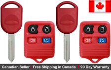 2 Replacement Keyless Remote Key Fob For Ford Lincoln Mazda Mercury 80 / 40 chip