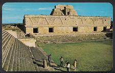 Mexico Postcard - The Nun's Quadrangle,  Uxmal, Yucatan   DP254