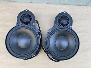 06-09 Volkswagen Passat Dynaudio Sound Front Door Speakers Left and Right Pair