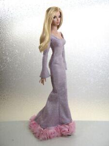 Metallic Light Lilac Gown Handmade by KK Fits 16 Inch FR16, AvantGuard Tyler