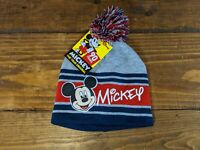 NEW Disney Mickey Mouse Knit Hat Beanie Youth