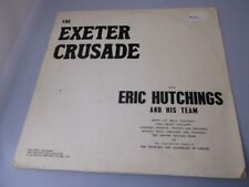 Eric Hutchings:  The Exeter Crusade rare 1967 live LP