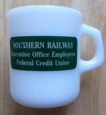 1983 SOUTHERN RAILWAY EMPLOYEES FEDERAL CREDIT UNION COFFEE MUG, WASHINGTON, DC