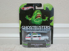BRAND NEW HOT WHEELS RETRO ENTERTAINMENT GHOSTBUSTERS ECTO-1 ORIGINAL VHTF