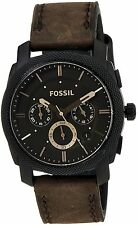Fossil Machine stopwatch Analog Brown Dial Men's Watch - FS4656