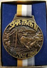 Star Trek The Voyage Home Medallion 1986