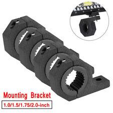 """4x 2"""" Mounting Bracket Clamps Cage Tube Roll Bull 1.5"""" 1.75""""Holder LED Light Bar"""
