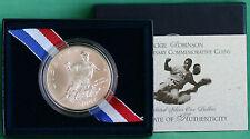 1997 Jackie Robinson BU Silver Dollar Commemorative US Mint Coin with Box + COA