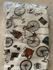 Lularoe Xl Perfect Tank New  Bicycle, Camera, Sunglasses Print  NWTS