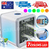 Portable Mini LED Air Cooler Fan Air Conditioner Cooling Humidifier Purifier AC