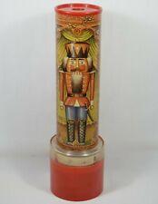 """Vtg 1970's Christmas Nutcracker 11"""" Kaleidoscope Music Box Randid Spangler"""