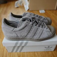adidas superstar grey  uk6.5 eu40 us8