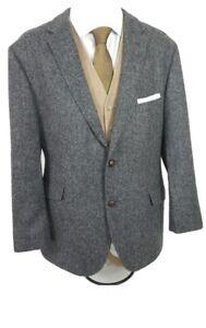 M&S Tweed Style Wool Blazer 44 Short