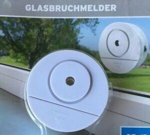 Glasbruchmelder Glasbruchalarm Einbruch Abwehr Alarmanlage Schutz vor Einbrecher