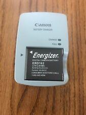 Canon Battery Charger & Energizer Digital Caméra Battery ERD162 3.7V 2.81Wh