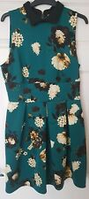 Closet Floral Dress Size 16 - Designed & Made In London