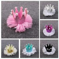 Rhinestone Crystal Hair Clip Crown Hairpin Pearl
