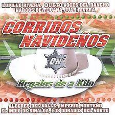 Corridos Navidenos: Regalos de a Kilo by Various Artists (CD, Nov-2001) NEW
