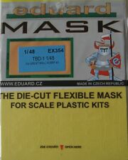 Eduard 1/48 EX354 Canopy Mask for the Great Wall TBD-1 Devastator