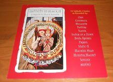 Nativity in Black II Black Sabbath Promo 2000 Poster 2-Sided Flat Square 12x12