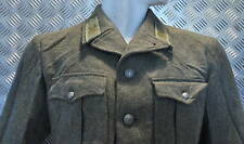 Genuine Swedish M39 Army Fitted Wool Jacket Dated 1940'2 - WWII - Size 104cms