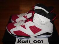 Nike Air Jordan 6 Retro VI Size 11.5 Carmine DB Rare BIN Infrared olympic A