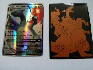 Carte Pokémon Dracaufeu GX shiny NON officielle SV49/SV94 française brillante
