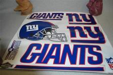 """SKINIT Huge 25"""" Wide NFL Team NEW YORK GIANTS Tailgate Skins DECAL SHEET NEW"""