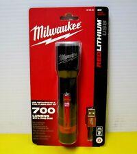 Milwaukee USB Red lithium Rechargeable LED Flashlight 700 Lumens 2110-21 NEW