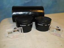 Vintage SAMIGON Wide Angle & Tele Photo Lens Set Screw Mount 2m J80