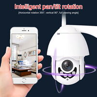 WIFI Wireless 1080P IP Camera Auto Tracking Outdoor CCTV HD Home Security IR Cam