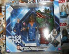 "Doctor Who 3rd Auton, Omega, Drashig set character options figure 5"" third"