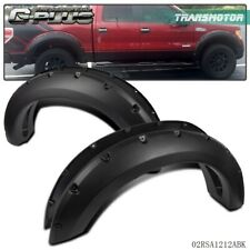 Fender Flares Pocket Rivet Bolt on Style Smooth For Ford F150 2004 - 2008 2006