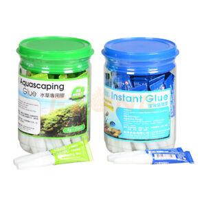 ISTA Aquarium Instant Coral Glue Moss Glue Rock Glue For Aquarium Tank Glue