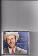 """HANK WILLIAMS, 3 CD SET """"THROUGH THE YEARS"""" NEW SEALED"""